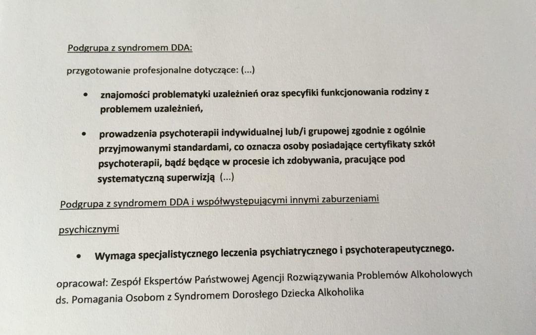 Terapia DDA – na co zwrócić uwagę przy wyborze leczenia.