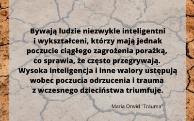 TRAUMA MA RÓŻNE OBLICZA – trauma relacyjna to też trauma.